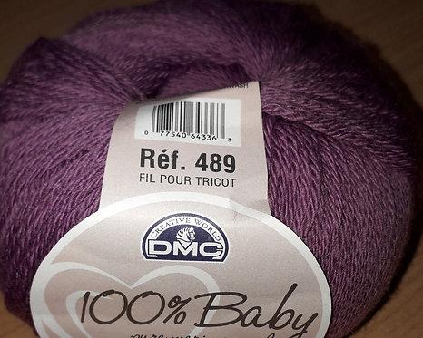 DMC Lilac 100% pure Merino wool