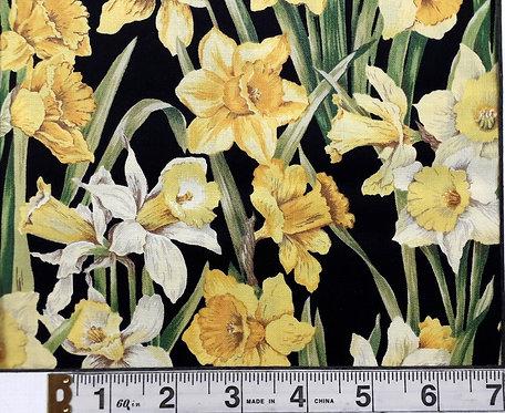 Daffodil Blossom - Black