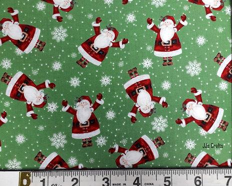Double Decker Christmas - Greentossed Santas