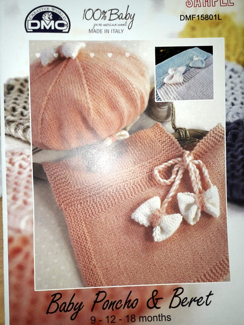 DMF-1580L/Baby Poncho & Beret out of stock