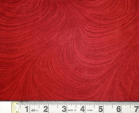 Wide Wave - Med Red