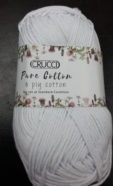 Crucci Pure Cotton 8ply