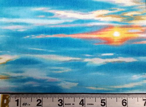 Landscape Medley - Tropical Sky Blue