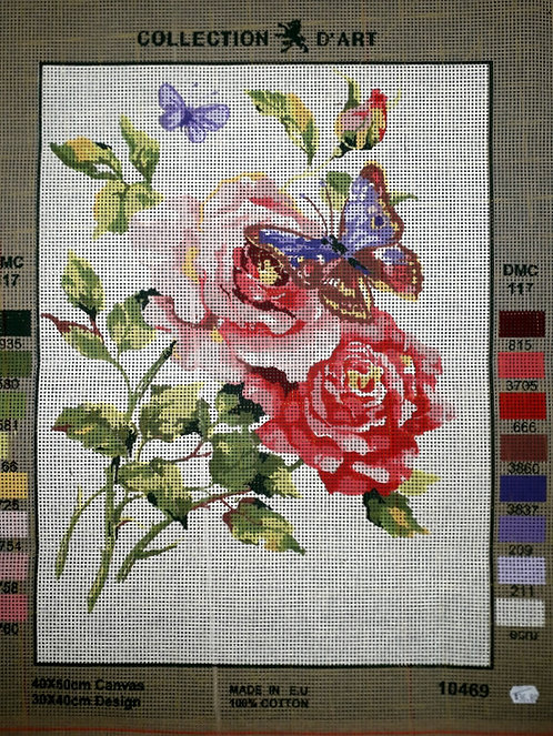 Collection d'arte Tapestry 10469 - Butterfly & Roses