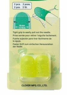 Clover Flexible Rubber Thimble -large  6032CV