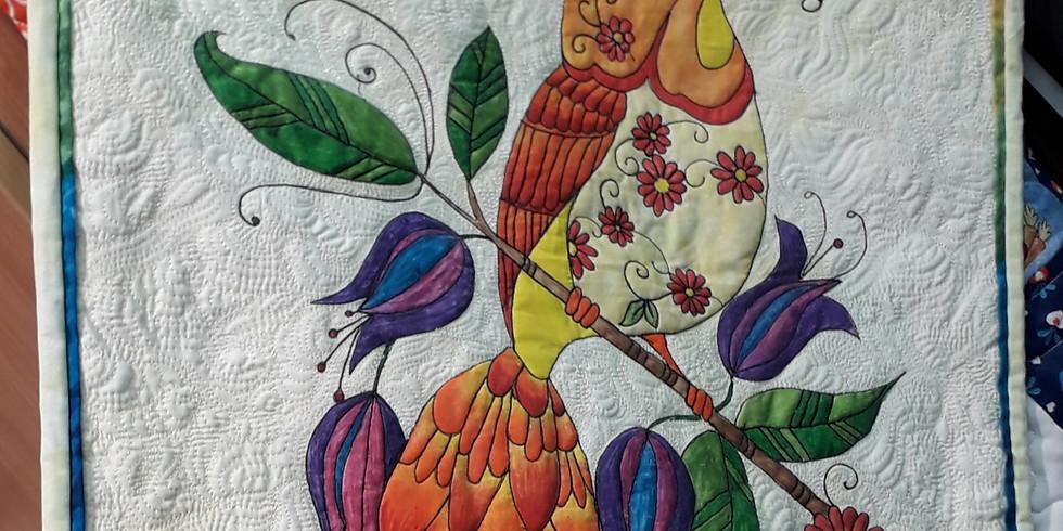 Inktense Fabric Painting