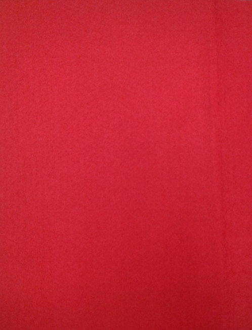 Felt - Bright Red