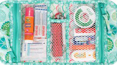 Just in Case - travel bag, First Aid Pouch, Cosemetic bag