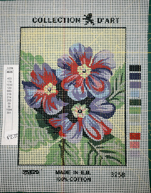 Collection d'arte Tapestry 3253- Zinnias