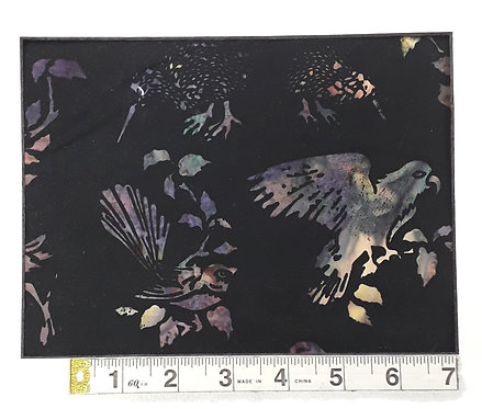 Kiwiana Birds - Midnight