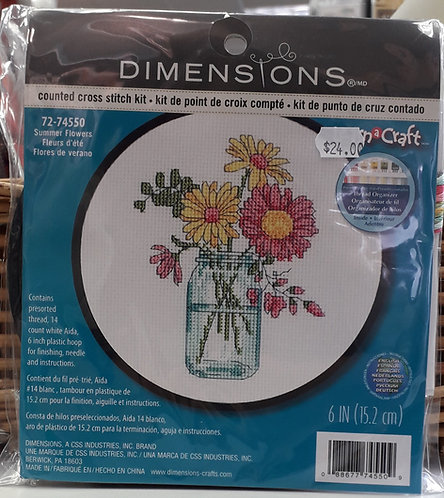Dimensions - Summer Flowers