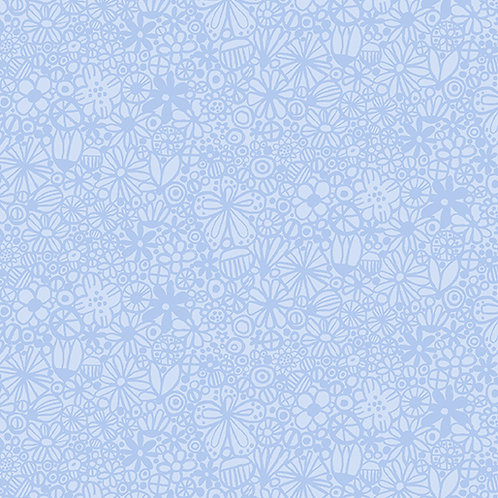 Baby Buddies - Blue Floral