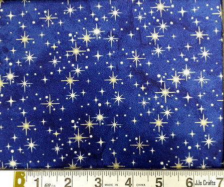 Angels Above Northcott by Deborah Edwards blue with stars