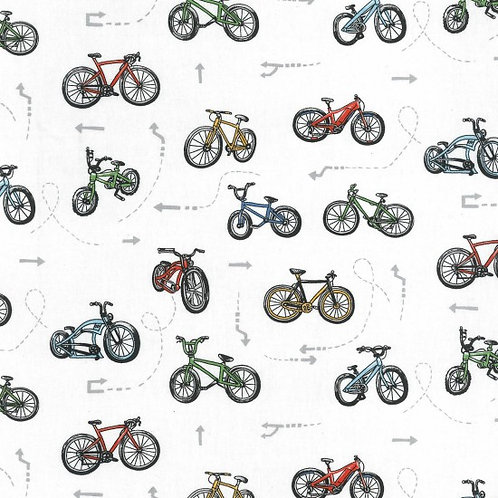 On two wheels - scatter