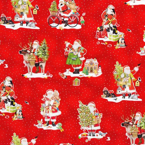 Holly Jolly Christmas - Red Santa