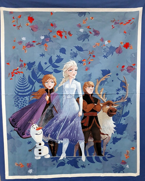 Frozen panel - Elsa and Anna and friends