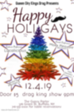 Copy of Christmas Party Lgbtq Pride Rain