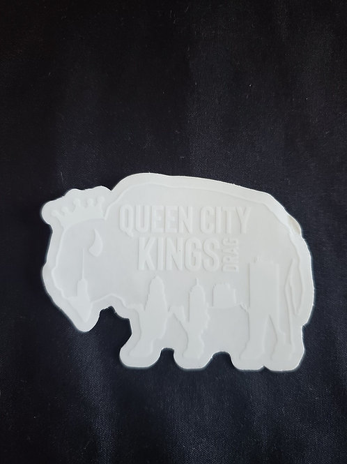 Buffalo Logo Window Cling