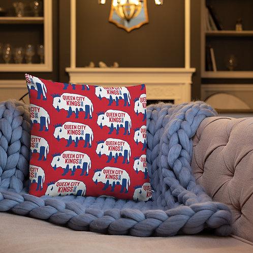 Double logo Premium Pillow