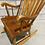 Thumbnail: Chaise Berçante Vintage - Fait en Roumanie