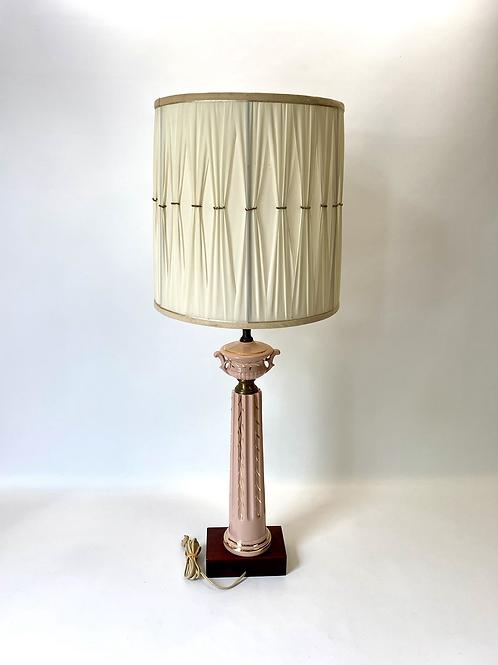 Lampe de Table Antique en Porcelaine - Antique Porcelaine Table Lamp