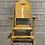 Thumbnail: Chaise Berçante Pliable - Fafard et Frères - Vintage Folding Rocker