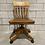 Thumbnail: Chaise de Bureau Vintage - H.Krug - Vintage Oak Office Chair