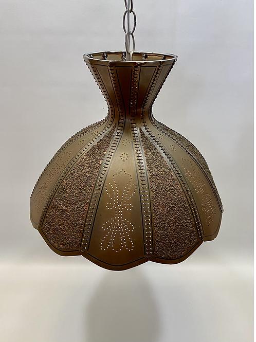 Luminaire Vintage en Cuivre - Vintage Copper Light