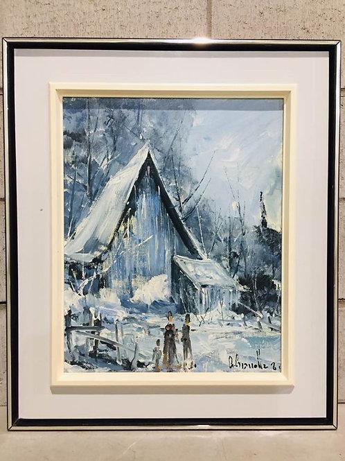 Huile sur Panneau Gianni Gianella 1981 - Original Artwork