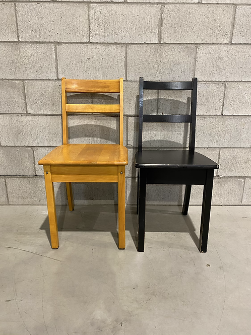 Duo Chaises Années 70 - Set of Vintage Chairs Circa 1970's