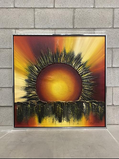 Peinture Sunburst de Roland Parret