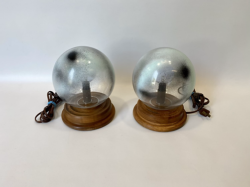 Duo Lampes Vintage - Upcycled - Pair of Vintage Lamps
