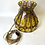 Thumbnail: Superbe Lampe Swag Vintage - Vintage Stained Glass Swag Lamp