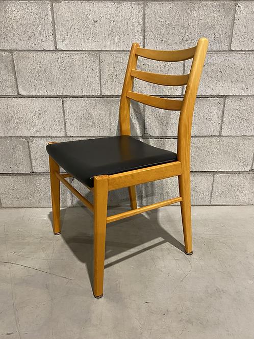 Chaise Ebena/LaSalle Années 60 - 1960's Ebena/LaSalle Vinyl Chair