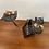 Thumbnail: Bougeoir Moderniste Mid-Century - FerArt Artisan Mtl  - Candle Holder