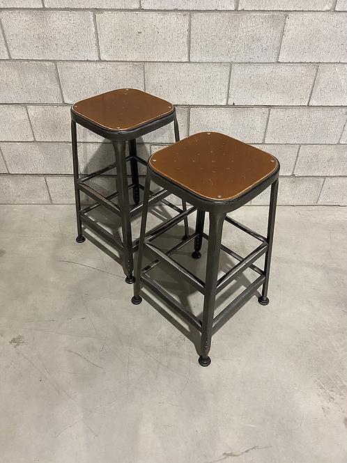 Deux Tabourets  - Reproduction Vintage