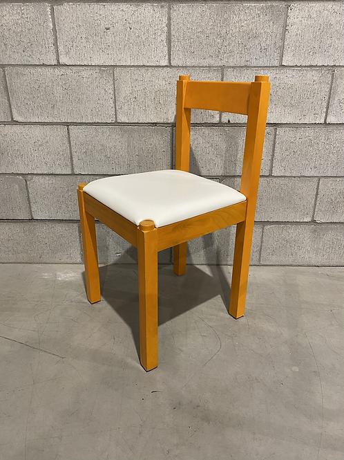 Chaise Vintage Assise en Vinyle - Vintage Vinyl Side Chair