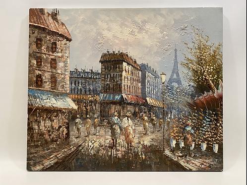 Huile sur Toile par M.Ciero - Original Artwork