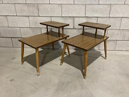 Duo Tables d'Appoints de 1960