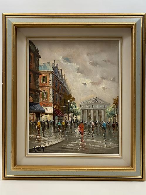 Huile sur Toile - Antonio DeVity - Oil on Canvas Original Artwork