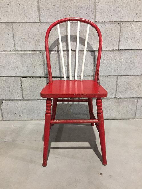 Chaise Antique Peinte