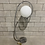 Thumbnail: Lampe sur Pied - Mid-Century Bauhaus Style - Chrome Floor Lamp