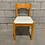 Thumbnail: Chaise Vintage Assise en Vinyle - Vintage Vinyl Side Chair
