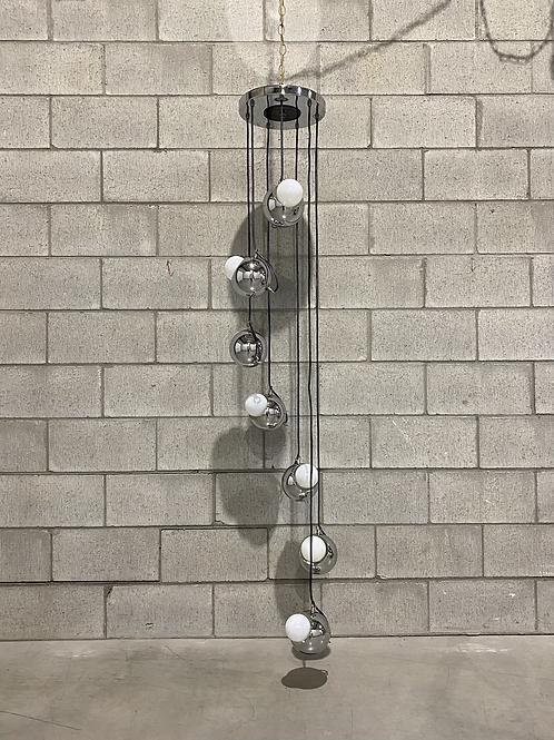 Lampe Cascade - Mid-Century - Cascade Swag Lamp