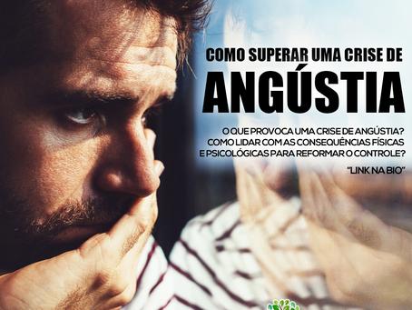 Como superar uma crise de angústia?