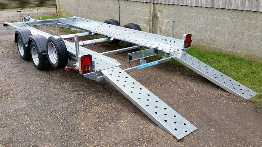 "Woodford Car Trailer STT080 14' X 6'1"" USED"