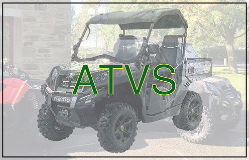 Professional ATVs for farmers, game keepers and equestrian use
