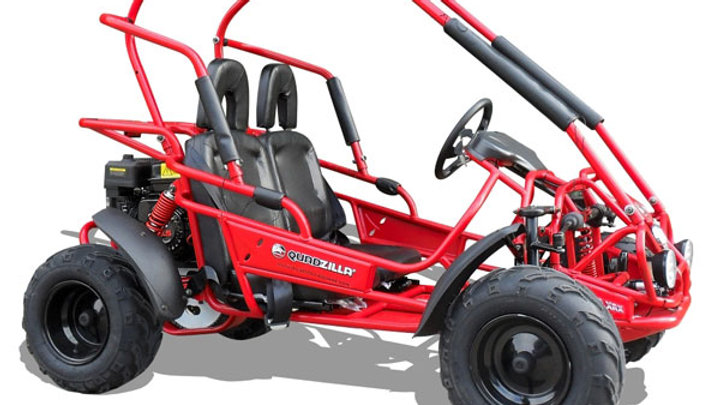 Quadzilla Mid Size Junior Off Road Buggy - Red