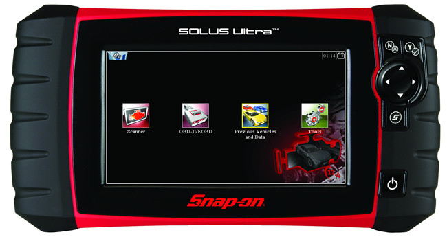 We are now able to run vehicle diagnostics on all OBD equipped vehicles including trucks and other 12 and 24 volt vehicles using the latest Snap-On software
