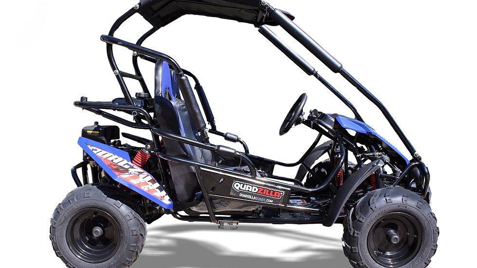 Quadzilla Mid Size Junior Off Road Buggy - Blue